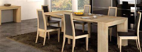 salle a manger extensible bali en ch 234 ne massif meubles bois massif