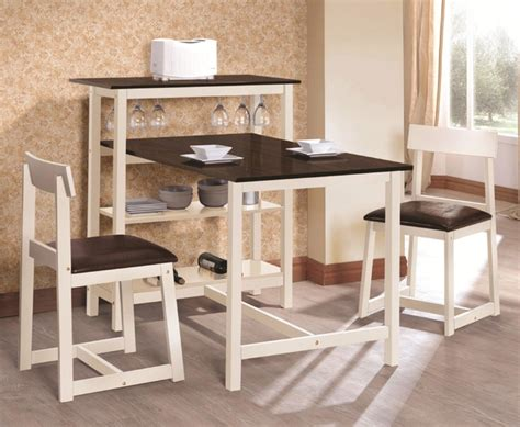 Two Tone Kitchen Cabinet Ideas Kitchen Tables With Storage Minimalist Dining Room Design With Two Tone Small Breakfast Tables