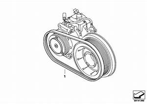 Original Parts For E60 535d M57n Sedan    Engine   Belt