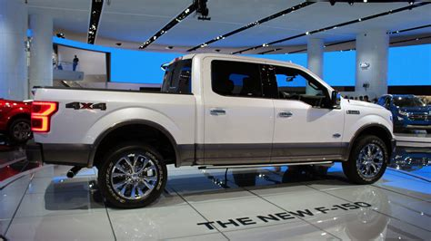 New Ford F-150 Diesel And Front End Photos From The 2017