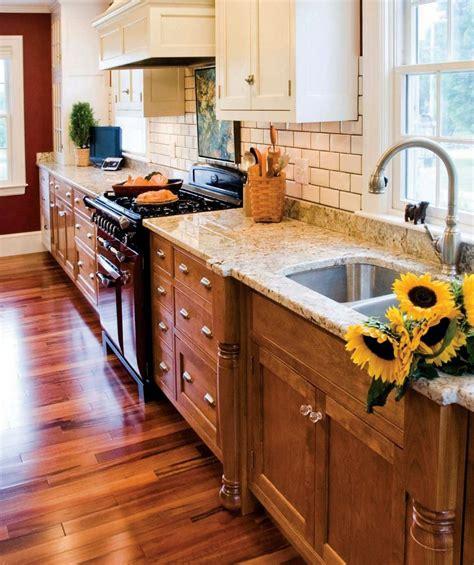 White cabinets unfinished kitchen cabinets base cabinet Accent Home & Garden Magazine | Kitchen renovation ...