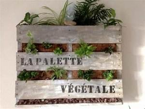 Mur Végétal En Palette : mur v g tale en palette creation palette ~ Melissatoandfro.com Idées de Décoration