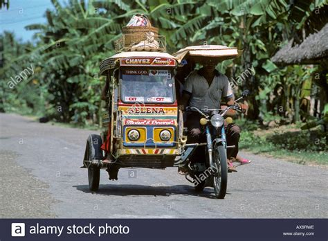 philippine motorcycle taxi motorbike taxi cebu philippines stock photo royalty free