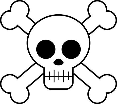 cute cartoon skulls clipart