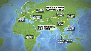 One Belt One Road initiative to connect China to Europe ...