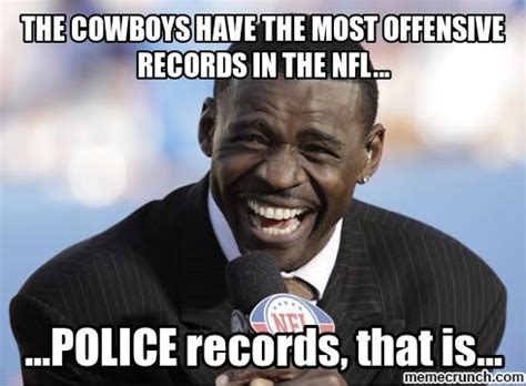 Offensive Memes - the cowboys have the most offensive records in the nfl