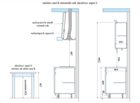 hauteur et largeur du plan de travail collection et hauteur plan de travail cuisine photo