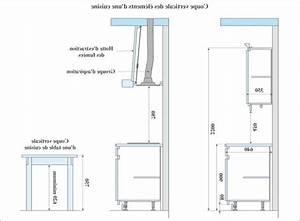 hauteur et largeur du plan de travail collection et With hauteur plan de travail cuisine