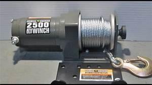 Badland 2500 Atv Winch