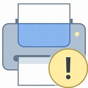 Printer Error Icon - Free Download at Icons8