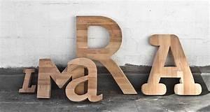 Große Deko Buchstaben : holztype fry2k philipp pilz ~ Markanthonyermac.com Haus und Dekorationen