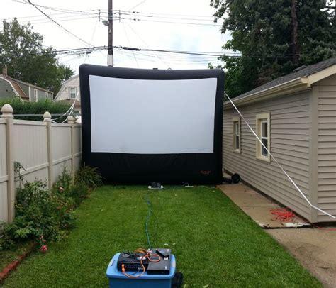 backyard screen rentals mymoonlitmovies outdoor rental screen