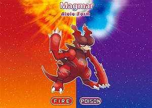 Magmar in Alola! by villi-c on DeviantArt