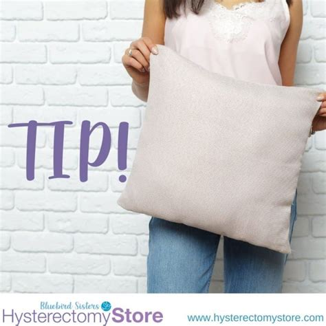 tummy pillow Archives - Hysterectomy Store Blog