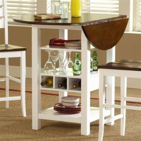 table haute cuisine avec rangement designs créatifs de table pliante de cuisine