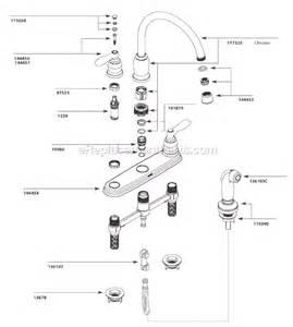 Moen Kitchen Faucet Parts Breakdown Moen Ca87888 Parts List And Diagram Ereplacementparts