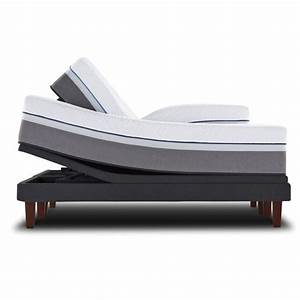 Sealy reflexion 4 adjustable bed base quality sleep for Furniture and mattress warehouse king