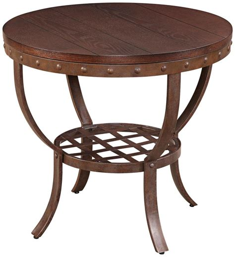 wood and metal end tables wood and metal end table end tables