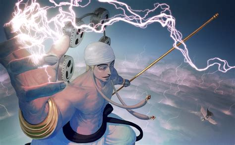Anime Lightning Wallpaper - anime one anime boys lightning enel gan fall