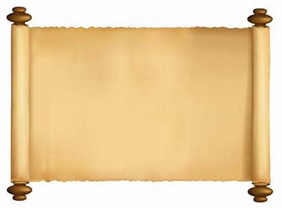Scroll Transparent Background Clipart Paper Roll Banner