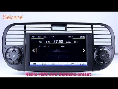 fiat 500 radio oem 2007 2013 fiat 500 radio dvd gps navigation player stereo upgrade support 3g wifi