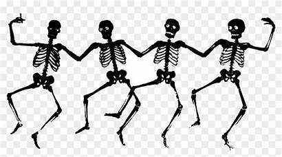 Halloween Clipart Dancing Skeleton Clip Creepy Ghost