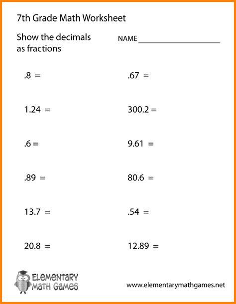 math worksheets  grade percentages