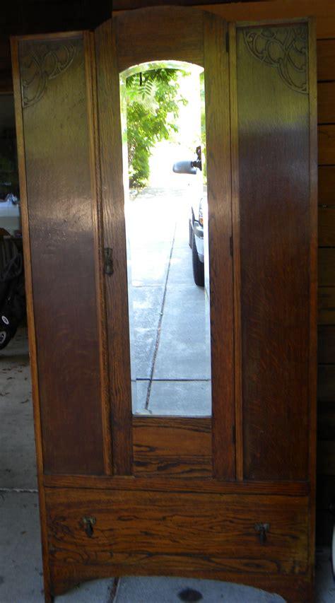 wardrobe mirrors for sale antique armoire wardrobe with beveled mirror for sale antiques com classifieds