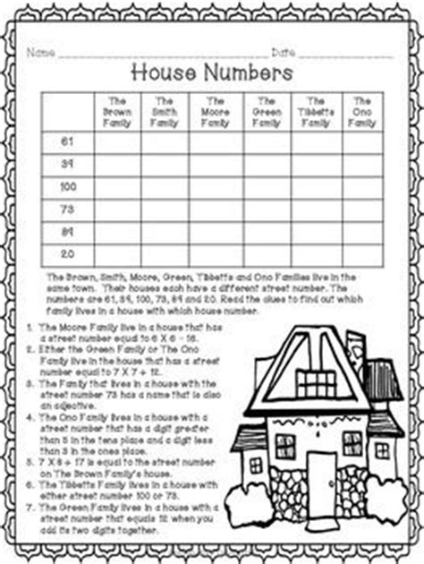 free logic puzzles for 1st graders logic puzzles for