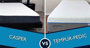 Casper vs tempurpedic mattress review sleepopolis for Casper mattress compared to tempurpedic