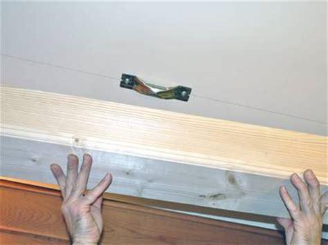lambris plafond cuisine pose et fixation d 39 une poutre pratique fr
