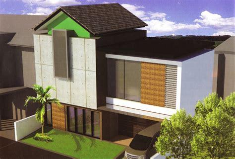 konsep desain rumah minimalis  lantai beserta denahnya
