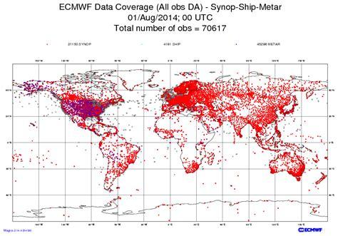 medium range forecast for europe manunicast