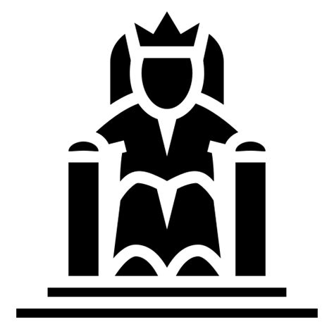 throne king icon icons