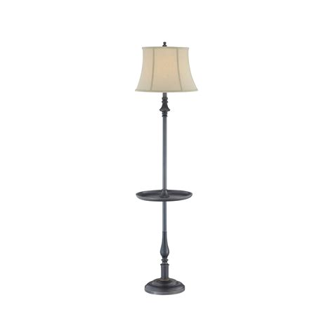 3 way table ls shop lite source 61 in dark bronze 3 way floor l with