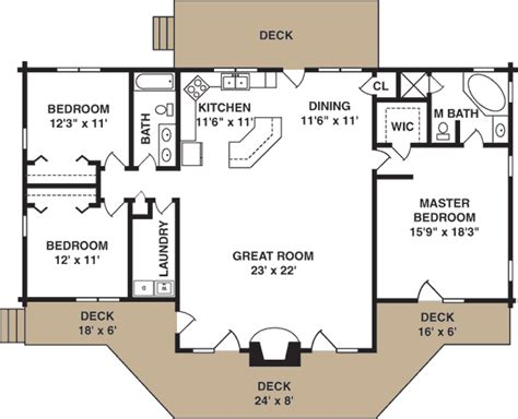 get a home plan peacock log home plan by log homes of america