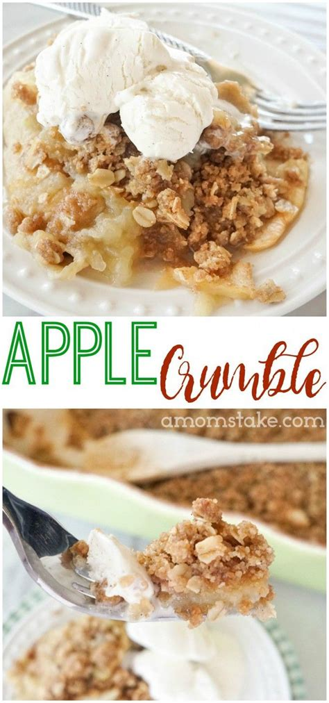 Apple Crumble Best Recipe Best 25 Apple Crumble Recipe Easy Ideas On