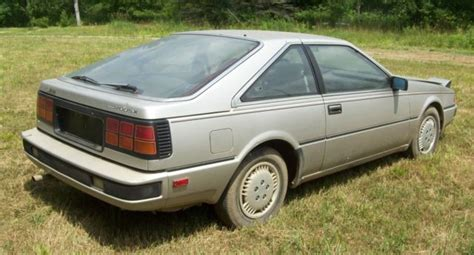1984 Datsun 200sx by Vintage 1984 Datsun Nisson 200sx Two Door Car Silver 200