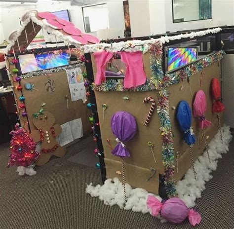 9 cubicle dwellers with serious christmas spirit seasons