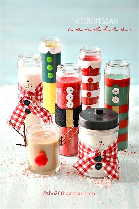 make christmas candles christmas gifts diy candles the 36th avenue