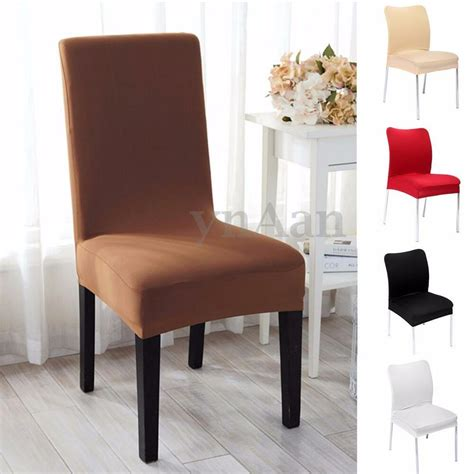 removable elastic stretch slipcovers dining room chair