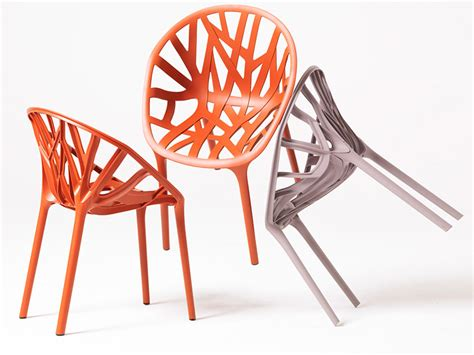 stackable plastic chair vegetal by vitra design ronan