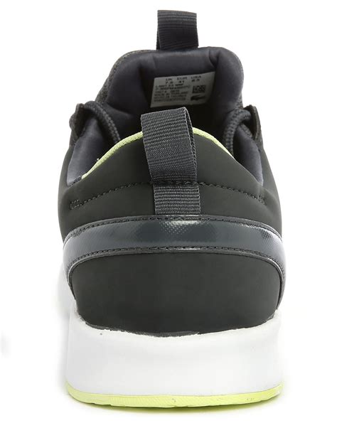light charcoal grey lacoste l ight charcoal grey two tone sneakers in gray for