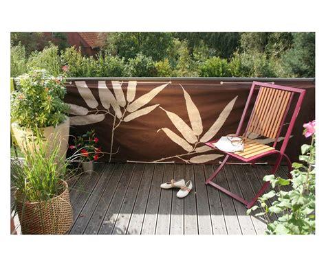 balkon sichtschutz quot bambus quot bestellen