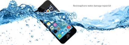 dropped my iphone in water reviveaphone the water damaged phone repair kit fixed