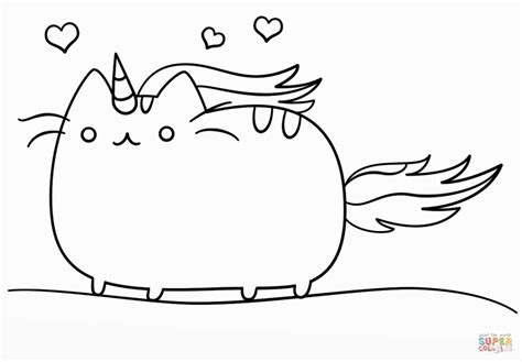 Pusheen Coloring Pages At Getcolorings.com