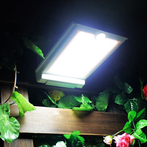 Super Bright 46 Led Outdoor Solar Lights Power Light With