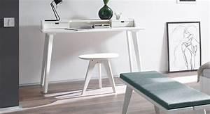 Design Sekretär Modern : moderner sekret r und schreibtisch im retrostil buche wei ~ Sanjose-hotels-ca.com Haus und Dekorationen