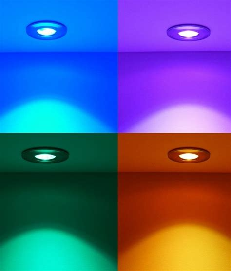 lights that change color ip65 bathroom led colour changing downlight
