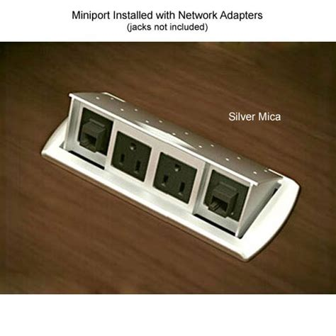 desk outlets power and data outlets in the desktop easy charging of extranious